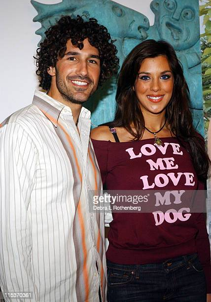 Ethan Zohn and Jenna Morasca during Survivor Couple Jenna Morasca and Ethan Zohn Unveil Peta Ad We'd Rather Go Naked Than Wear Fur at Museum of Sex...