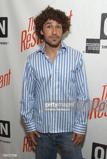 Ethan Zohn during American Express Viewing Party of The Restaurant at Rocco's on 22nd in New York City New York United States