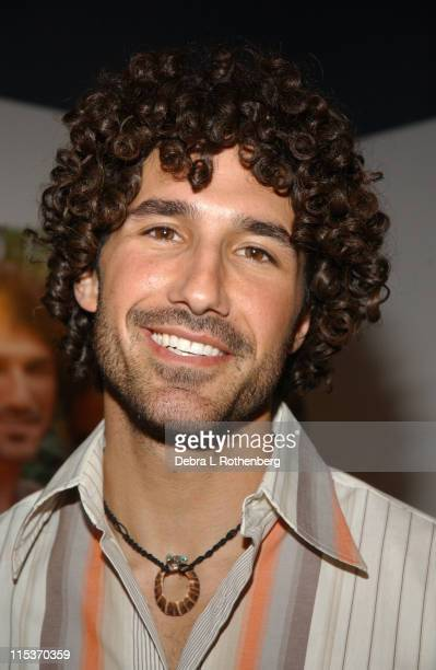 Ethan Zohn during Survivor Couple Jenna Morasca and Ethan Zohn Unveil Peta Ad We'd Rather Go Naked Than Wear Fur at Museum of Sex at Museum Of Sex in...