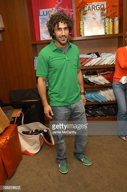 Ethan Zohn during The Lucky/Cargo Club An Upfront Week Hospitality Suite Day 2 at Le Parker Meridien in New York City New York United States