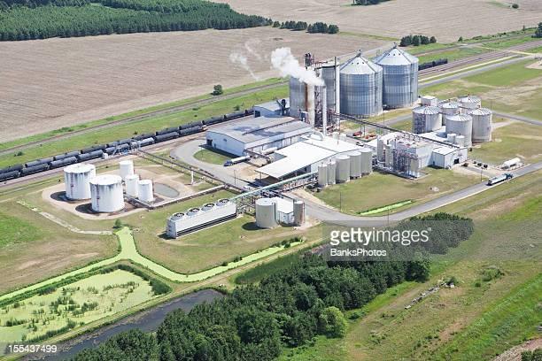 Ethanol Biorefinery Aerial View