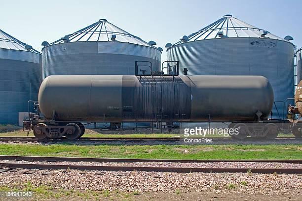 Ethanol Tanker Railroad Car