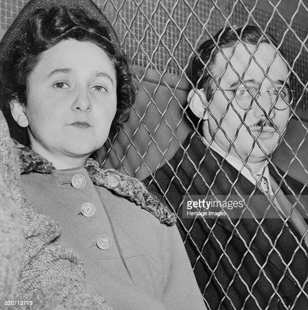 Ethel and Julius Rosenberg Found in the collection of Library of Congress Washington D C