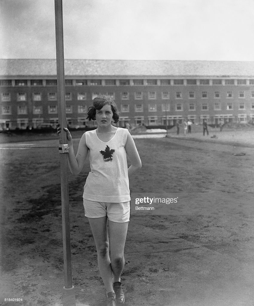 Ethel Catherwood, Canadian Olympic High Jumper : News Photo