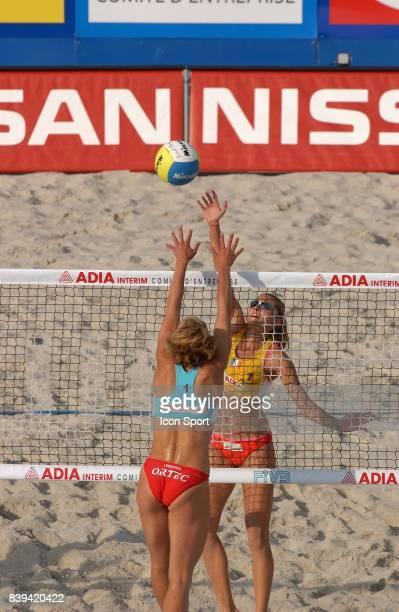 Ethel Julie ARJONA Beach Volley Swatch FIVB World Tour 2005 Tournoi Paris Grand Chelem Champ de Mars
