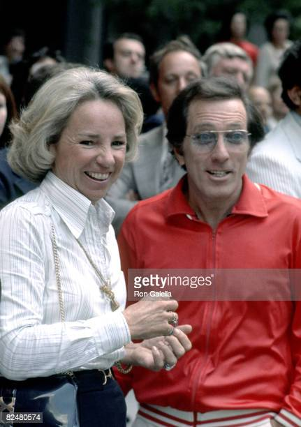 Ethel Kennedy and Andy Williams