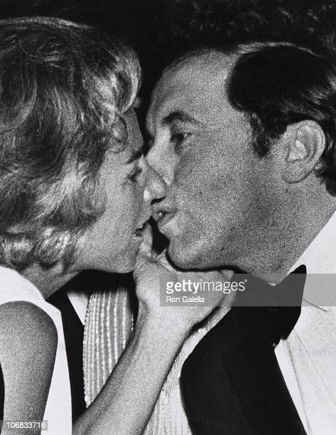 Ethel Kennedy and David Frost during Ethel Kennedy and David Frost at The Friars Club Honor of Alan King March 28 1971 at WaldorfAstoria Hotel in New...