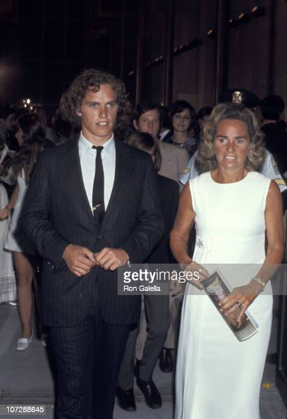 Ethel Kennedy and Joseph Kennedy during Opening of The Kennedy Center For The Performing Arts at The Kennedy Center in Washington D.C., United States.