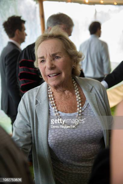 Ethel Kennedy attends Cheryl Hines and Robert F Kennedy Jr Wedding at a private home on Saturday August 2 in Hyannis Port Massachusetts United...