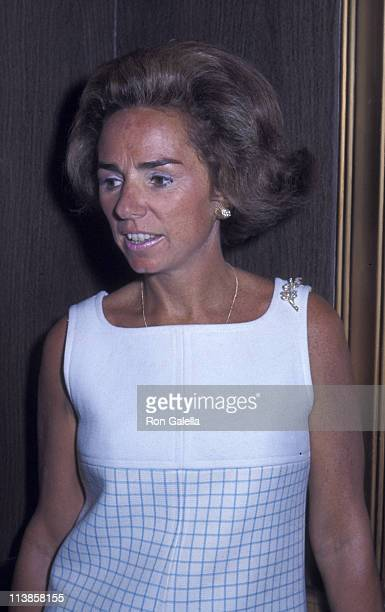 Ethel Kennedy attends Clergy For Kennedy Campaign Rally on May 28 1968 at the Ambassador Hotel in Los Angeles California