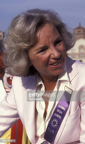 Ethel Kennedy attends Special Olympics Benefit on June 24 1977 at UCLA Campus in Los Angeles California