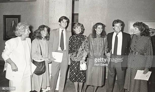 Ethel Kennedy Cara Kennedy William Kennedy Smith Jean Kennedy Smith Victoria Frances Lawford Ted Kennedy Jr and Patricia Kennedy Lawford