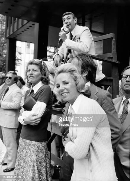 Ethel Kennedy circa 1974 in New York City.