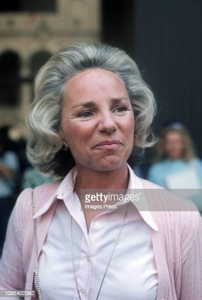 Ethel Kennedy circa 1979 in New York City