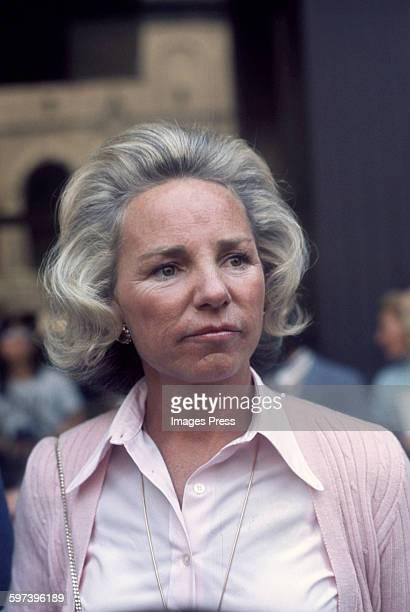 Ethel Kennedy circa 1979 in New York City