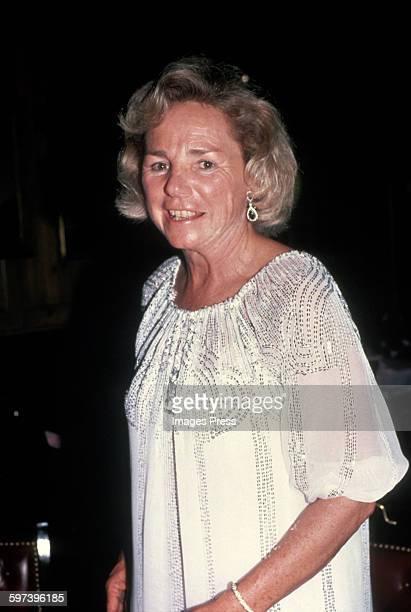 Ethel Kennedy circa 1983 in New York City