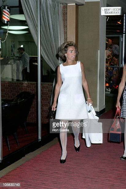 Ethel Kennedy during Clergy For Kennedy Luncheon at Ambassador Hotel in Los Angeles California United States