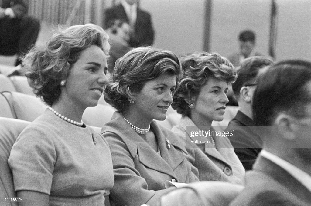 Women of the Kennedy Family : News Photo