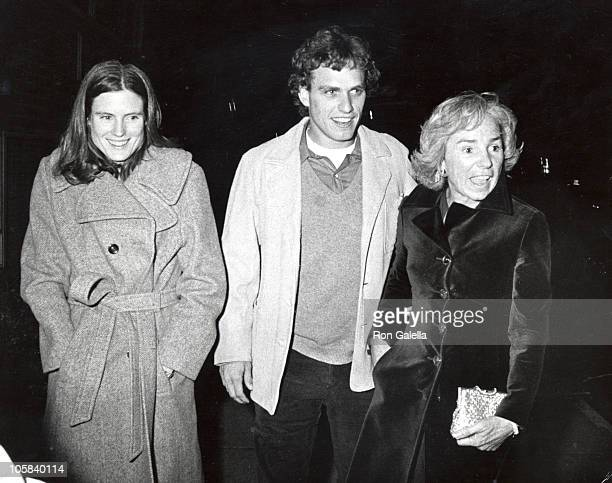 Ethel Kennedy Joe Kennedy Sheila Brewster Rauch during 21st 18th Birthday Party for Caroline Kennedy and John F Kennedy Jr at Le Club in New York...