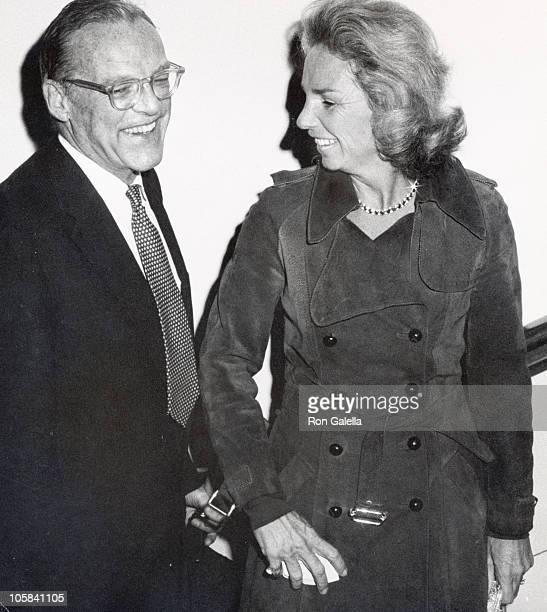 Ethel Kennedy Lemoyne Billings during Andy Williams Opening United States
