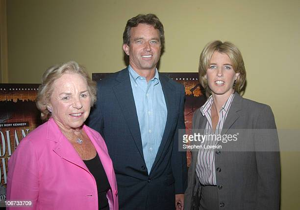 Ethel Kennedy Robert F Kennedy Jr and Director Rory Kennedy