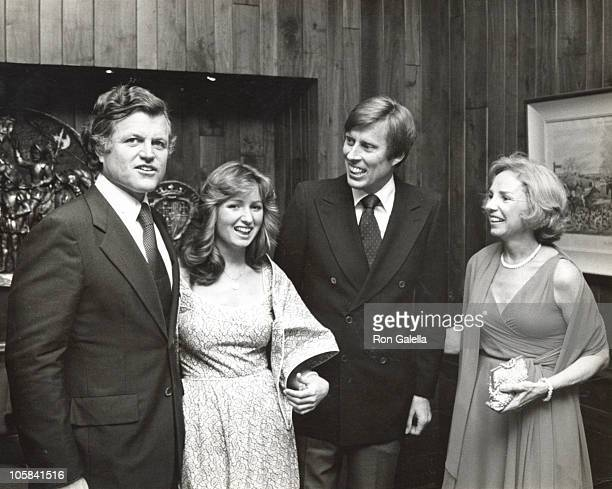 Ethel Kennedy Ted Kennedy Courtney Kennedy and John Tunney
