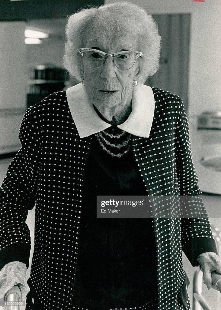 SEP 19 1984; Ethel Lang who will be *****; : News Photo