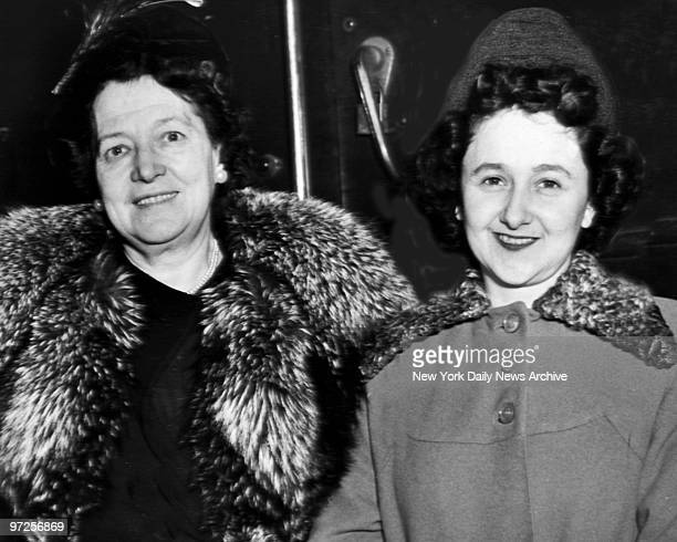 Ethel Rosenberg and Deputy Marshal Katherine Allen