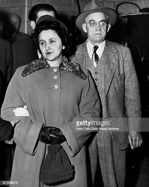 Ethel Rosenberg with US Marshal