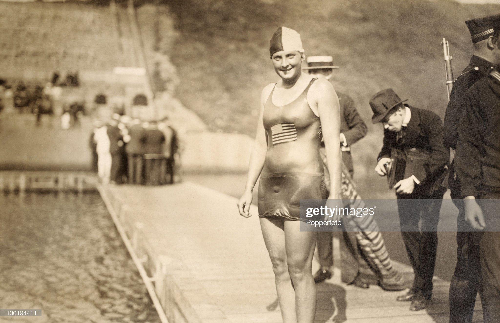 1920 Olympic Games - Ethelda Bleibtrey : Fotografía de noticias