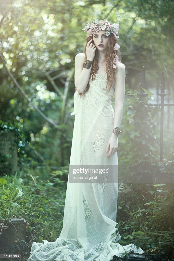 Ethereal girl : Stock Photo