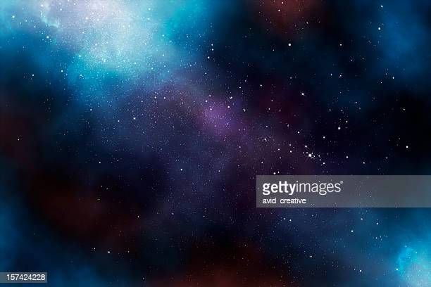etherial image of the heavens - nebula stock pictures, royalty-free photos & images