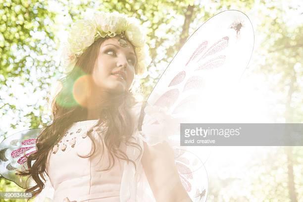Etherial Winged Fairy Sunbeams