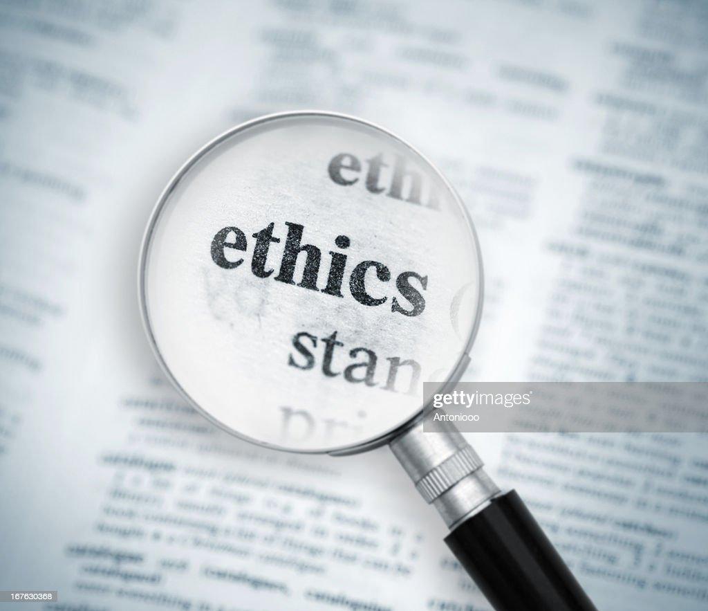 Ethics : Stock Photo
