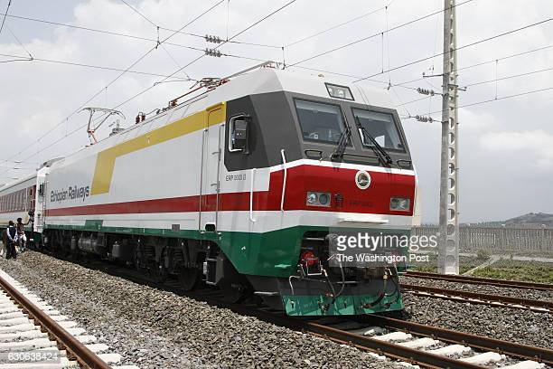 The new Chinesebuilt electric locomotives and train line will dramatically cut travel time for freight and passengers from the capital Addis Ababa to...