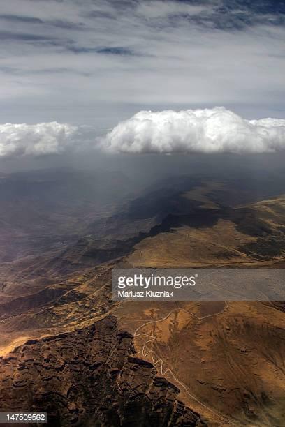 ethiopia simien mountains - axum stock photos and pictures