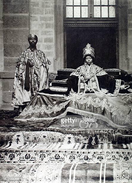 Ethiopia The new empress of Ethiopia empress Zeoditu and the crown prince Ras Tafari