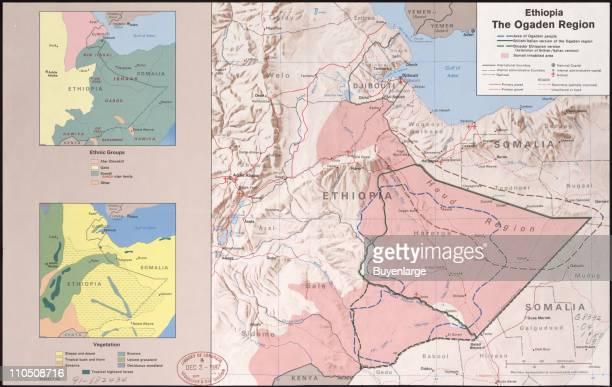 Ethiopia the Ogaden Region Illustration by CIA