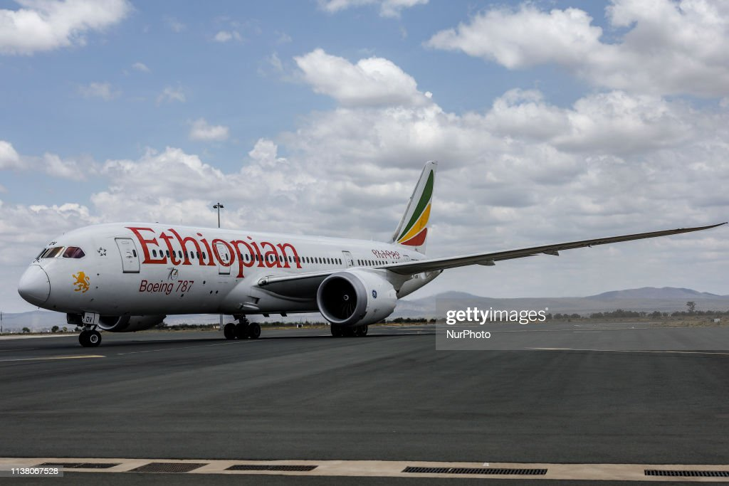 The Ethiopian Airlines : News Photo