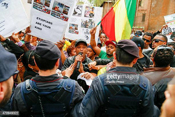 Ethiopian community march against ISIS and Xenophopia in South Africa