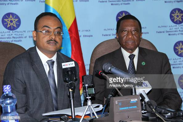 Ethiopian Health Minister Keseteberhan Admassu And Au Commissioner News Photo Getty Images