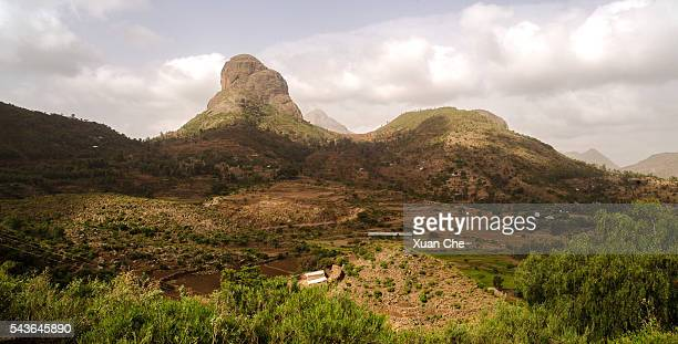 ethiopian highland - axum stock photos and pictures