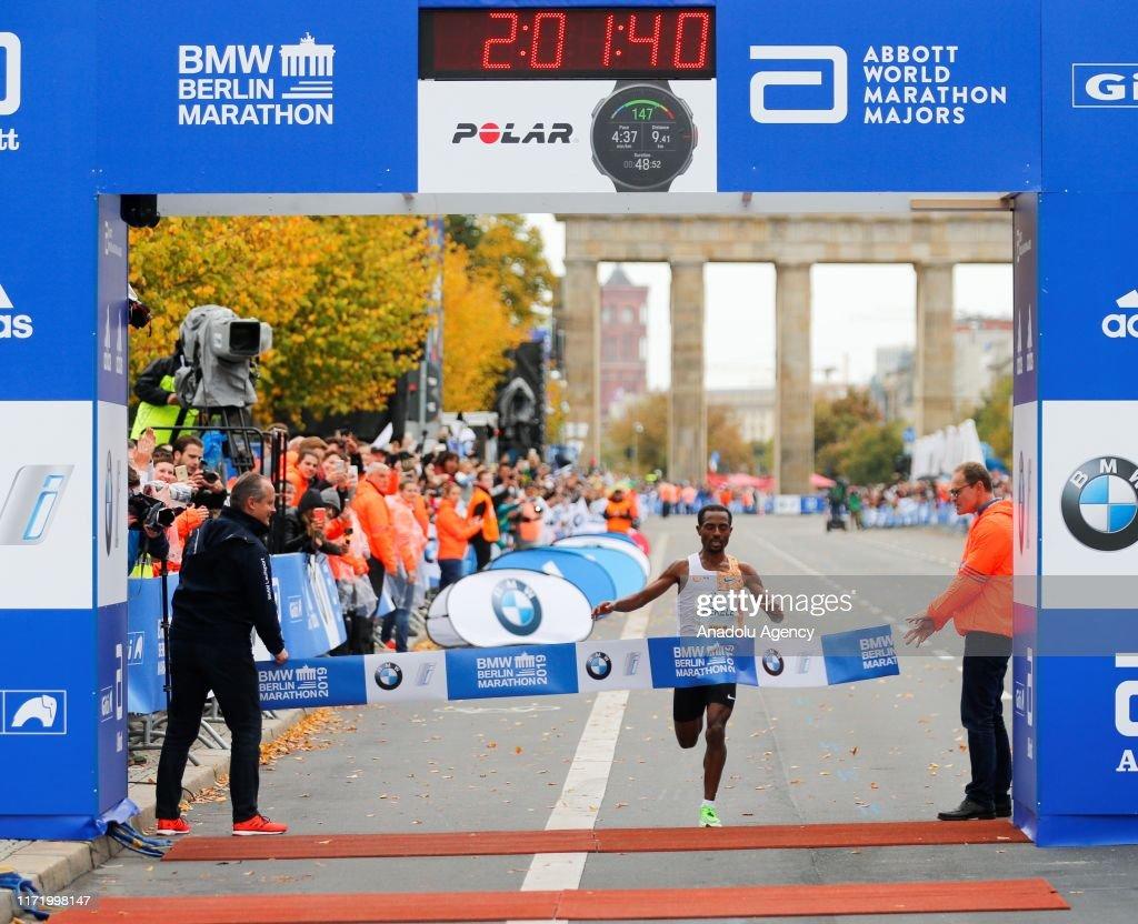 46th BMW Berlin Marathon : News Photo