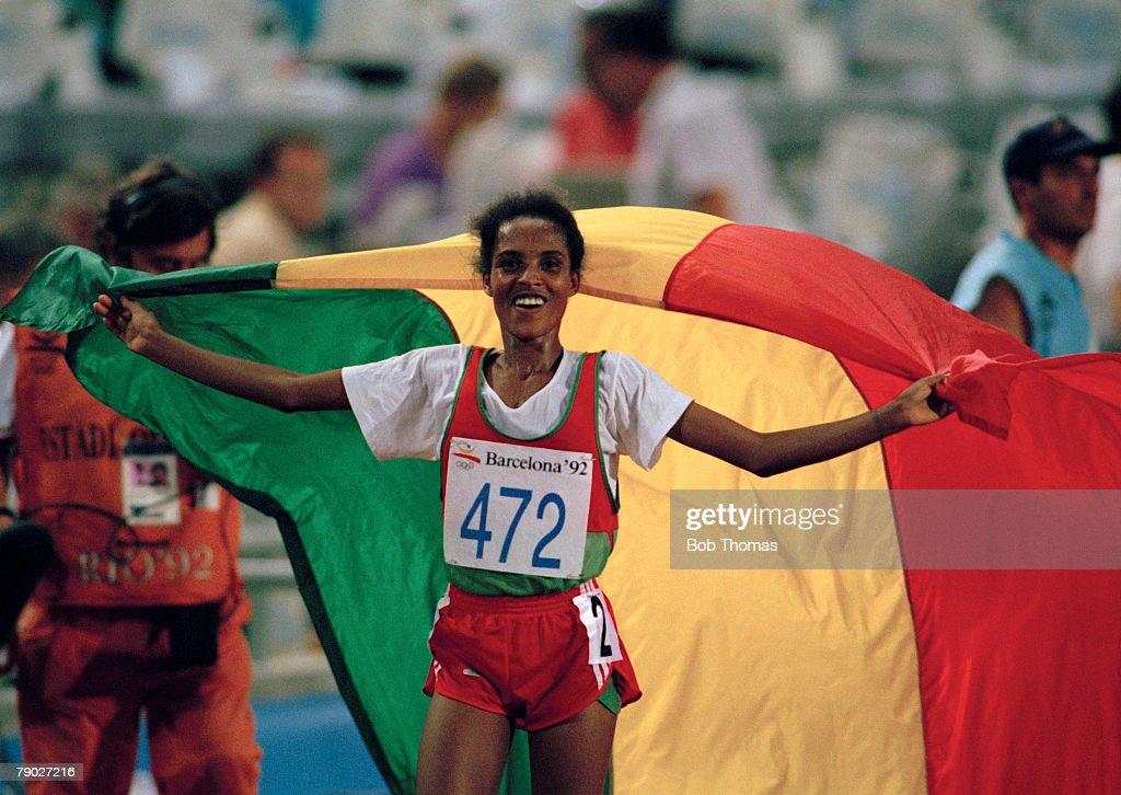 Derartu Tulu At XXV Summer Olympics : News Photo