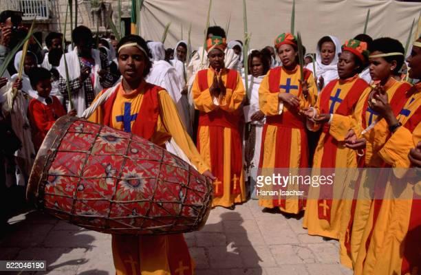Ethiopian Orthodox Ceremony at Easter