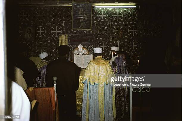 Ethiopian Orthodox Chapel in the Church of the Holy SepulcherJerusalem