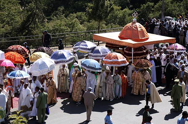 Epiphany celebrations in Addis Ababa Pictures | Getty Images