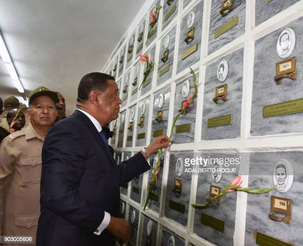 Ethiopian President Mulatu Teshome Wirtu accompanied by the Minister of the Revolutionary Armed Forces of Cuba General Leopoldo Cintra Frias visits...