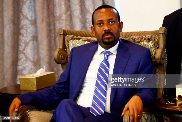 Ethiopian Prime Minister Abiy Ahmed arrives in Khartoum for an official visit to Sudan on May 2 2018