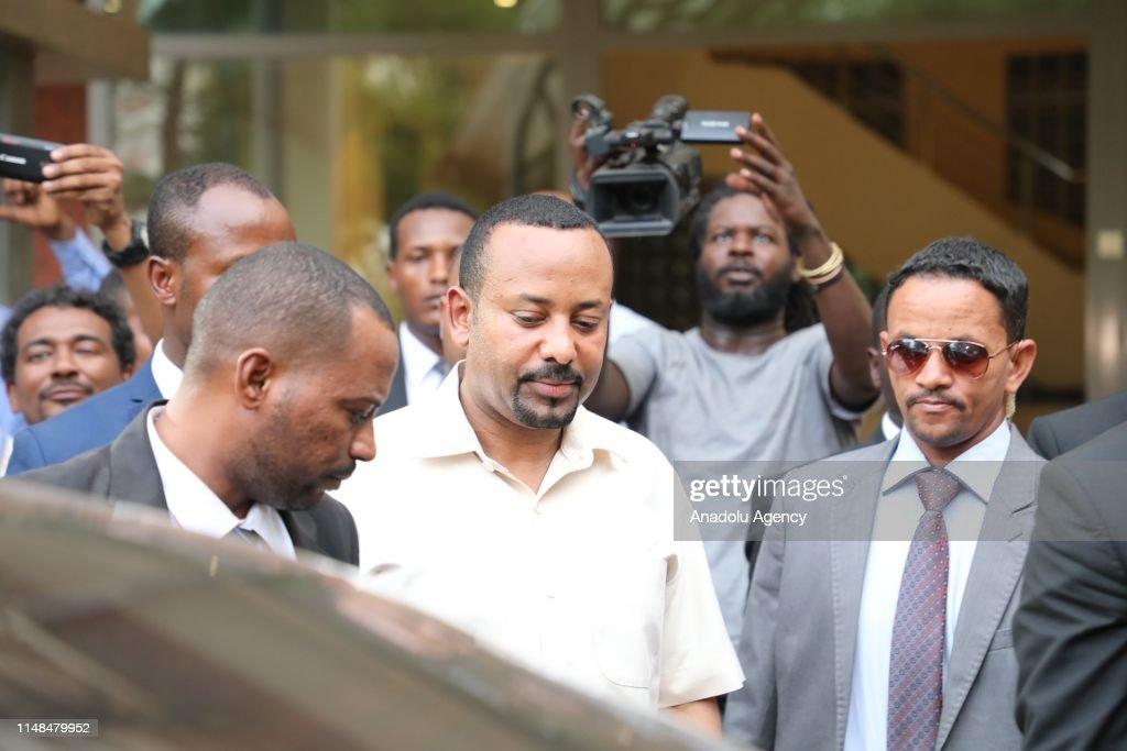 Ethiopian Prime Minister Abiy Ahmed visits Sudan as a mediator : News Photo